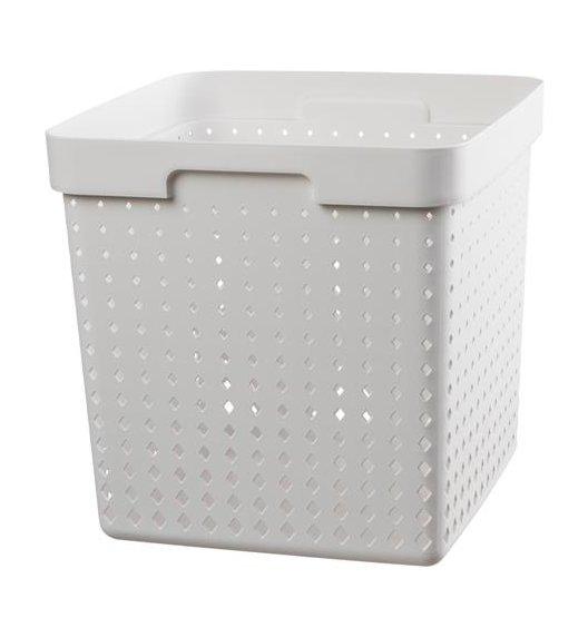 PLAST TEAM SOUL Organizer / koszyk 30 x 30 x 30 cm / biały / DELHAN