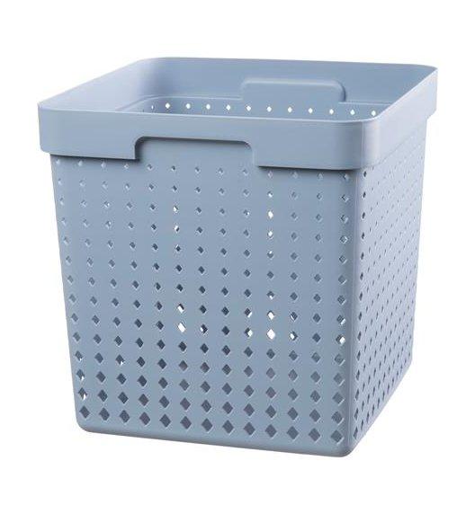 PLAST TEAM SOUL Organizer / koszyk 30 x 30 x 30 cm / niebieski / DELHAN