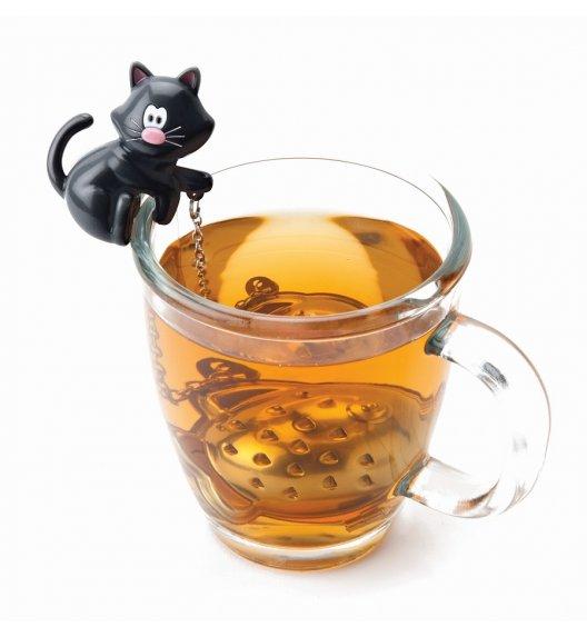 WYPRZEDAŻ! MSC Zaparzaczka do herbaty ⌀ 4 cm TEA & COFFEE czarny kot / FreeForm