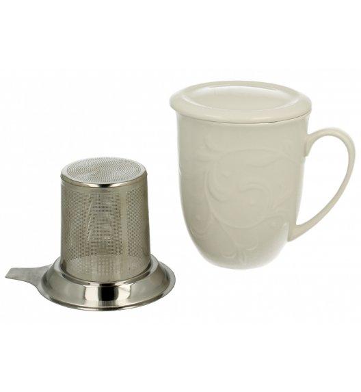WYPRZEDAŻ! DUO HEMINGWAY Kubek ze stalowym zaparzaczem 300 ml / porcelana