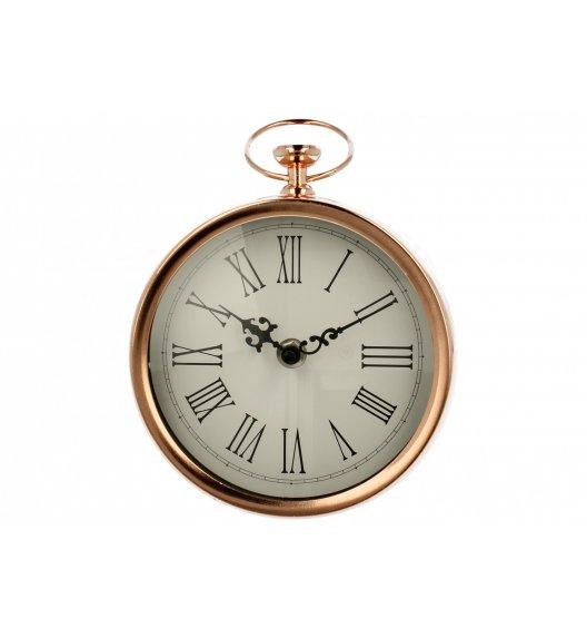 WYPRZEDAŻ! DUO RETRO GOLD Zegar stojący 18 cm / Miedziany