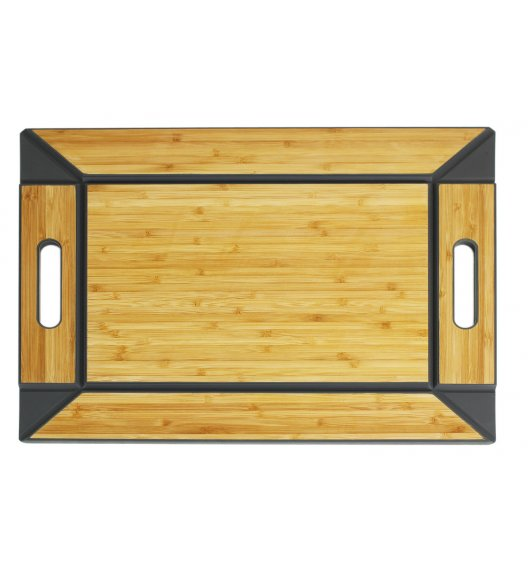 FREEFORM Taca do serwowania z drewna bambusowego / dwustronna / LENA