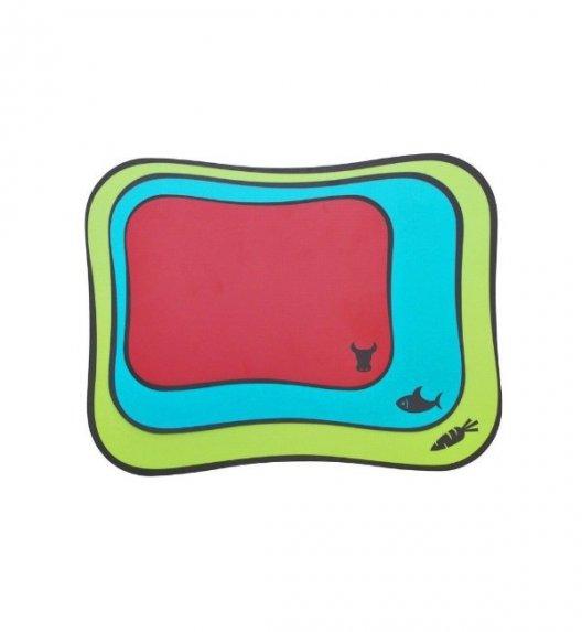 MOHA FLEX&COLOR Komplet 3 kolorowych mat do krojenia / LENA