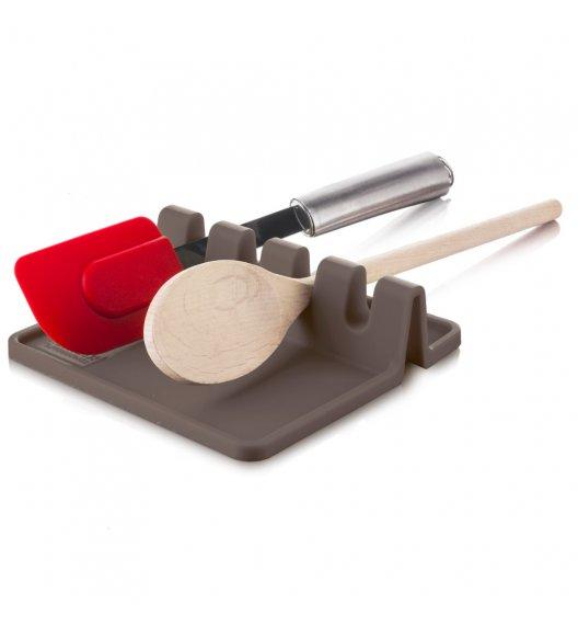 TOMORROW'S KICHEN Podkładka pod przybory kuchenne szara / tworzywo sztuczne / LENA