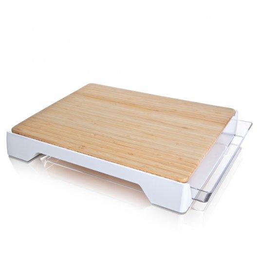 TOMORROW'S KITCHEN Deska do krojenia z szufladką / drewno bambusowe / LENA