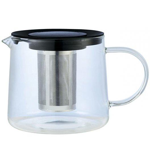 ODELO Dzbanek do herbaty i ziół z zaparzaczem 1 l / szkło borokrzemowe