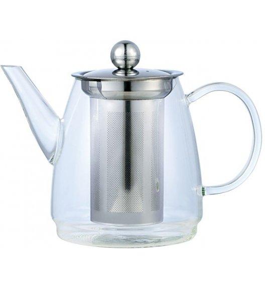 ODELO Dzbanek do herbaty i ziół z zaparzaczem 900 ml / szkło borokrzemowe