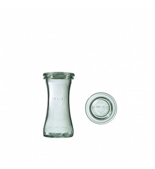 WECK DELI Komplet 6 słoików na przetwory z pokrywką 100 ml / szkło / TG HOME