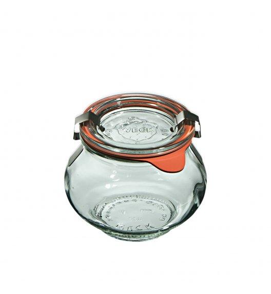 WECK DECO Komplet 12 słoików na przetwory z uszczelką i 2 zapinkami 220 ml