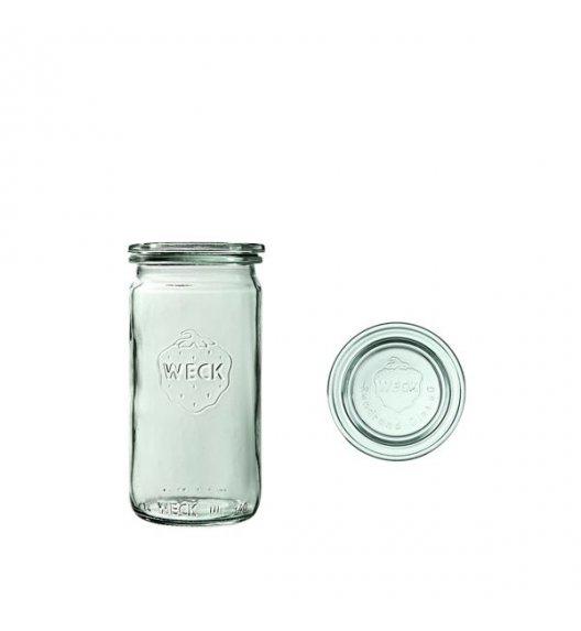 WECK Komplet 6 słoików cylindrycznych na przetwory z pokrywką 340 ml