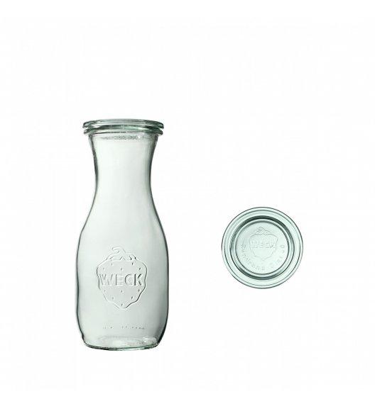 WECK Komplet 6 butelek z pokrywką 530 ml / szkło / TG HOME