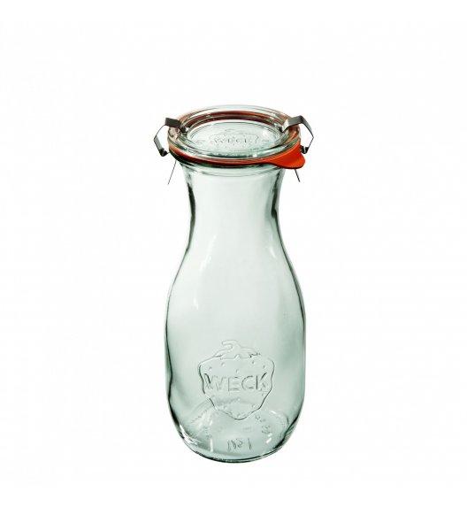 WECK Komplet 6 butelek z uszczelką i 2 zapinkami 530 ml