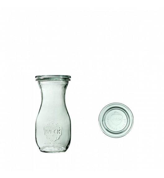 WECK Komplet 6 butelek z pokrywką 290 ml / szkło / TG HOME
