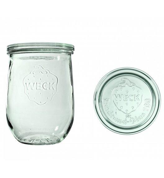 WECK TULIP Komplet 6 słoików na przetwory z pokrywką 1062 ml / szkło / TG HOME
