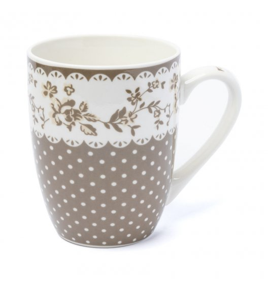 TADAR CHICA KROPKI Kubek 350 ml / porcelana New Bone China