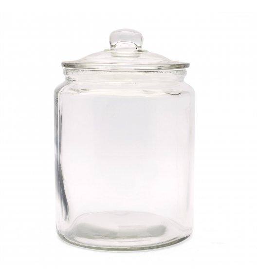 TADAR Ozdobny słoik z pokrywką do przechowywania 5,65 L / szkło