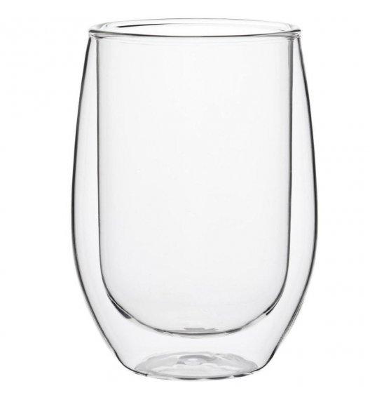 TADAR SUBLIME Komplet 2 szklanek termicznych 350 ml z podwójną ścianką / szkło