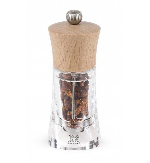 PEUGEOT OLERON Młynek do chilli 14 cm / naturalny / akryl + drewno / TG HOME