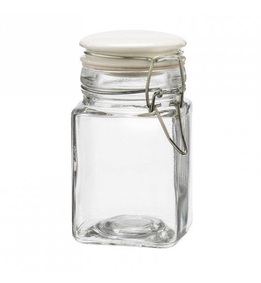 TADAR Słoik z pokrywą na klips 250 ml / szkło / biały
