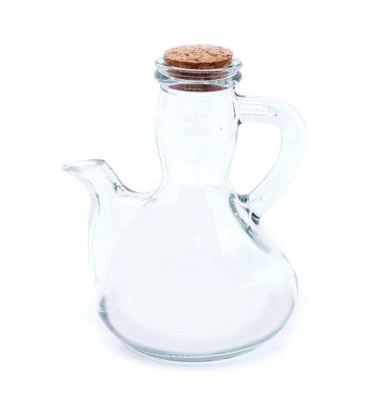 TADAR PEAR Butelka z korkiem 0,3 l / transparentna / szkło