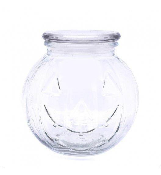 TADAR Słoik dynia z pokrywą 1,1 l / szkło / biały