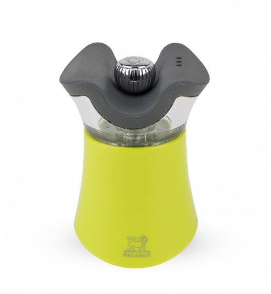 PEUGEOT PEP'S 2w1 Młynek do pieprzu z solniczką 8 cm / zielony / tworzywo ABS / TG HOME