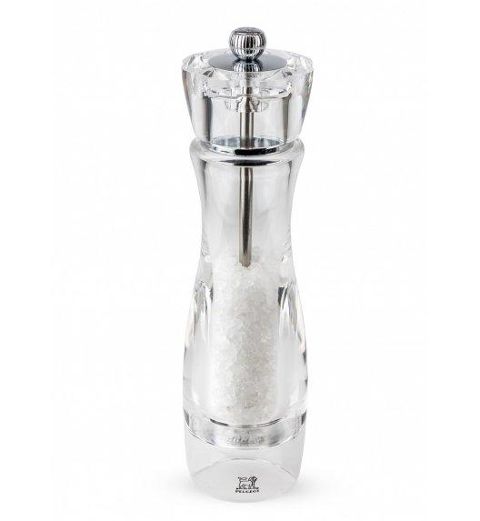 PEUGEOT VITTEL Młynek do soli 23 cm / akryl + stal nierdzewna