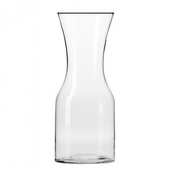 KROSNO PURE Karafka do wody 900 ml / szkło wysokiej jakości