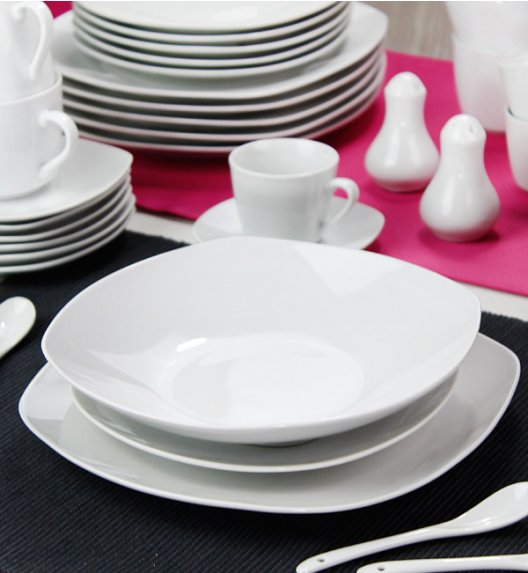 WYPRZEDAŻ! ARZBERG VENUS Niemiecki serwis obiadowo-kawowy 42 el / 5 os / porcelana