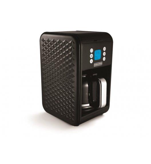 MORPHY RICHARDS VECTOR Ekspres przelewowy do kawy czarny / Technologia Pour Oven / BPA FREE