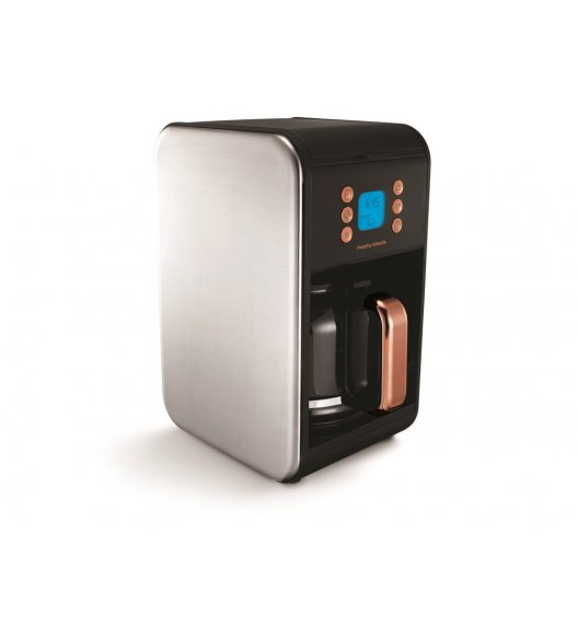 MORPHY RICHARDS ACCENTS Ekspres przelewowy do kawy rosegold / Technologia Pour Oven / BPA FREE