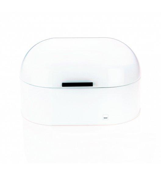 KELA FRISCOLINO Chlebak metalowy 25 x 15 cm / biały / FreeForm