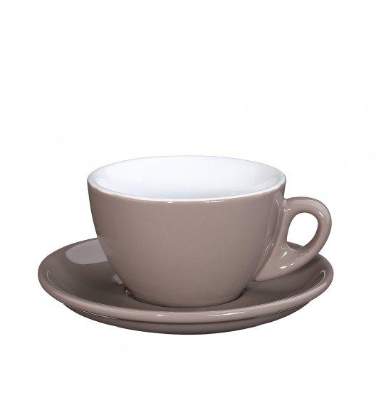 CILIO ROMA Filiżanka do cappuccino ze spodkiem 100 ml / beżowa / FreeForm