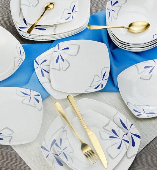 WYPRZEDAŻ! BELLA FIORE Komplet 6 talerzy deserowych / ceramika / Italian Design