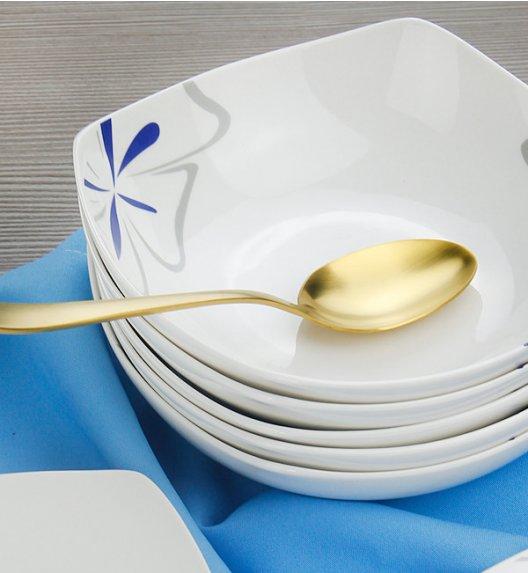 WYPRZEDAŻ! BELLA FIORE Komplet 6 talerzy głębokich / ceramika / Italian Design