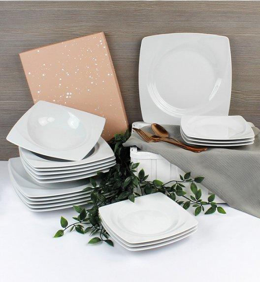 LUBIANA CELEBRATION Serwis obiadowy 18 el / 6 os / porcelana