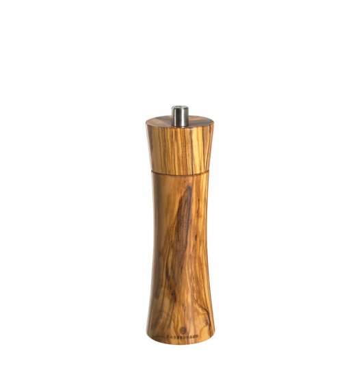 WYPRZEDAŻ! ZASSENHAUS Młynek do pieprzu FRANKFURT ⌀ 5,8 x 18 cm, drewno oliwne / FreeForm