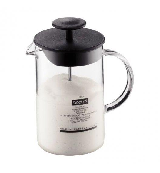 BODUM LATTEO Spieniacz do mleka 0,25 l / czarny / Btrzy