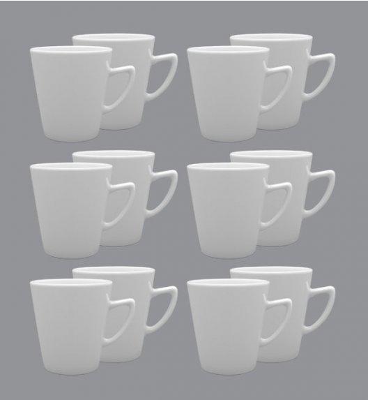 LUBIANA CLASSIC Komplet Kubek 400 ml / 12 el / 12 os / porcelana