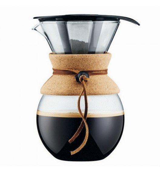 BODUM POUR Zaparzacz do kawy z kołnierzem 1 l / szkło / Btrzy