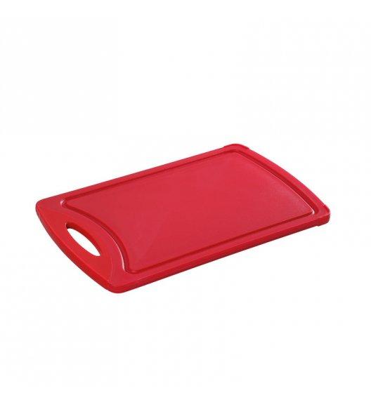 WYPRZEDAŻ! ZASSENHAUS Deska do krojenia 32 x 20 cm, czerwona / FreeForm