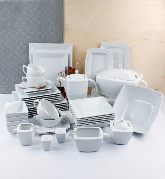 LUBIANA CLASSIC Serwis obiadowo-kawowy 18 os / 140 el / Porcelana + GRATIS 49 ZŁ!
