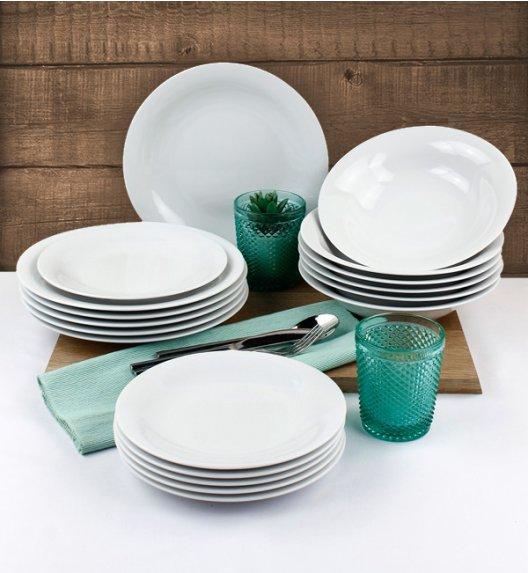 WYPRZEDAŻ! LUBIANA ETO Serwis obiadowy 18 el / 6 osób / porcelana