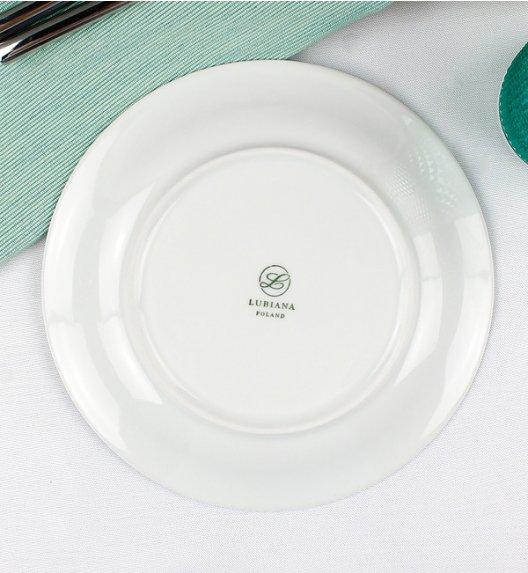 WYPRZEDAŻ! LUBIANA ETO Serwis obiadowy 54 el / 18 osób / porcelana