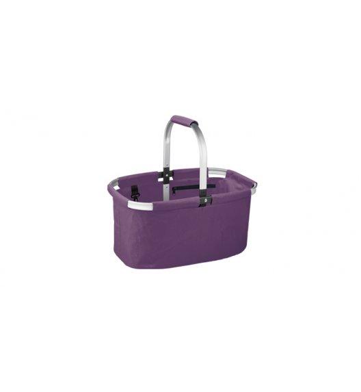 TESCOMA SHOP Koszyk składany na zakupy / Fioletowy