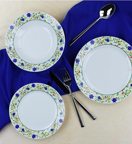 WYPRZEDAŻ! ALPENBURG Serwis obiadowy 12 osób / 36 elementów / porcelana