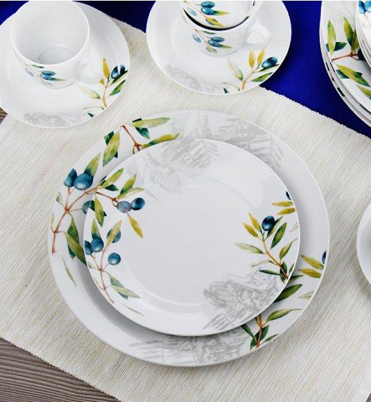 WYPRZEDAŻ! FLIRT TOSKANA Komplet 6 talerzy głębokich / Porcelana