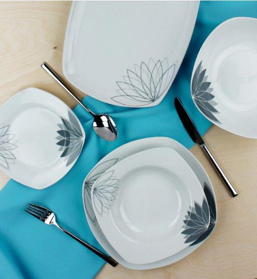 WYPRZEDAŻ! ALPENBURG Serwis obiadowy 6 osób / 20 elementów / porcelana