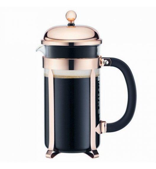 BODUM CHAMBORD Zaparzacz do kawy 1 l french press / miedziany / szkło / Btrzy