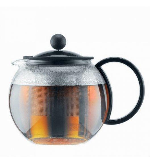 BODUM ASSAM Dzbanek / zaparzacz do herbaty 0,5 l / czarny / szkło / Btrzy